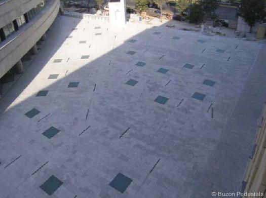 Buzon Pedestals In Illuminated Terrace. PrevNext